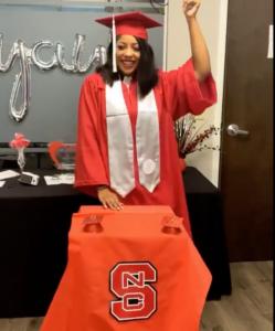 NC State Graduate Bryanna Hopson